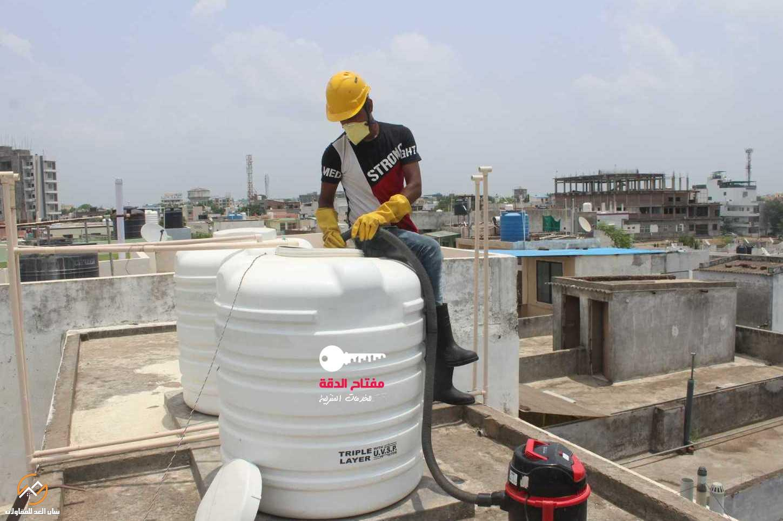 شركة تنظيف خزانات شرق الرياض